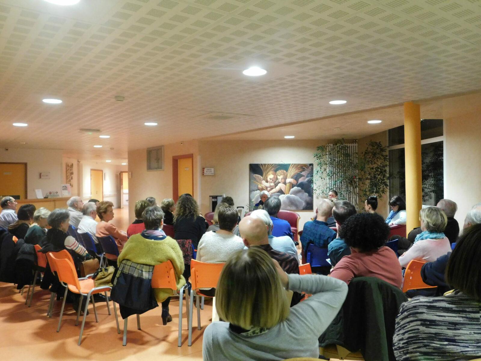 Soirée des Familles au Centre Alzheimer Montvaillant dans le BOISSET GAUJAC